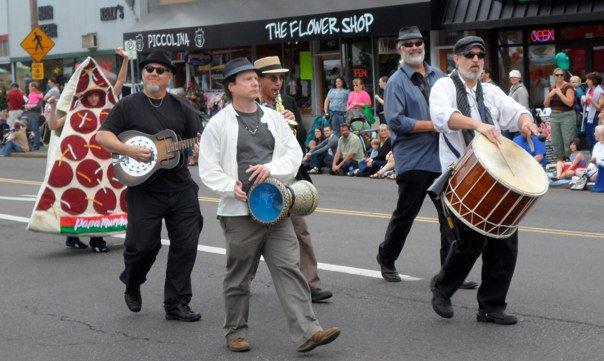 Woodstock Street Fair with Negara Portland