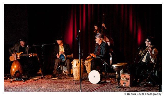 Negara at JamBallah NW 2011 at Bossanova Ballroom Portland - Photo by Dennis Goetz
