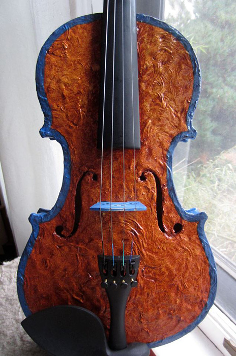 Violin for the Painted Violin Project of The Portland Youth Philharmonic