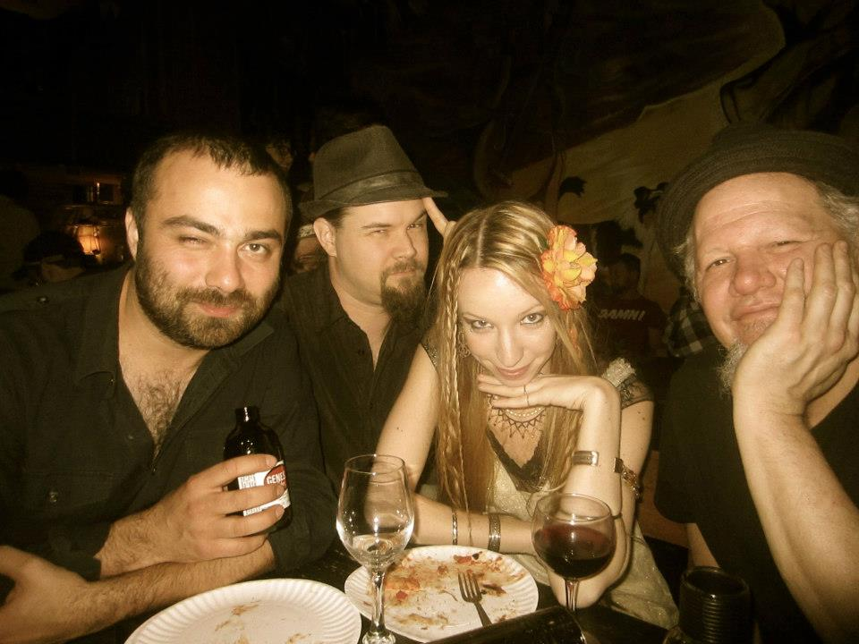After gig at Elixir Lab with Andrewski, Charles, Chelsea and Doug